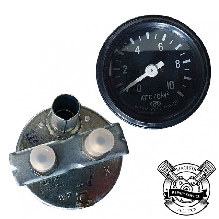 Покажчик тиску оливи КАМАЗ УК-170 (33.3810)